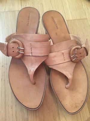 Progetto Sandalo con plateau beige