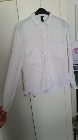 Schöne Weiße Bluse in 38