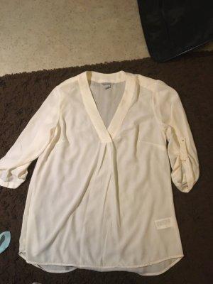 Schöne weiße Bluse in 44 von h&m, Chiffon
