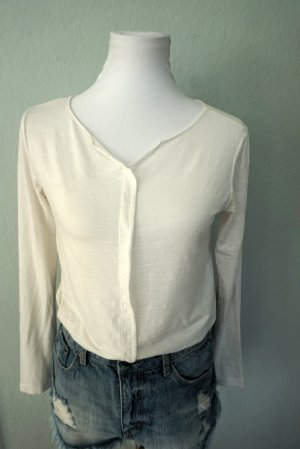 Schöne weiße Bluse in Größe 36