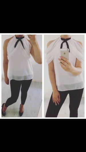 Schöne weiße Bluse Neu