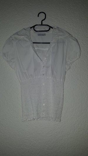 Schöne weiße Bluse perfekt wenn es mal offizieller sein soll