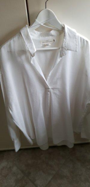 schöne weiße Hemd-Bluse