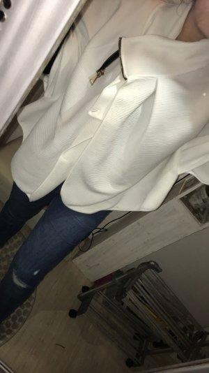 Schöne weiße Jacke edel