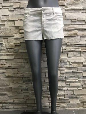 H&M Divided Pantaloncino di jeans bianco