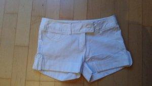 Schöne weiße kurze Hose von Tally Weijl Gr 34-36
