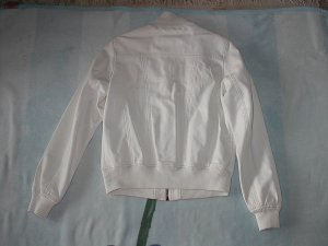 Giacca in ecopelle bianco
