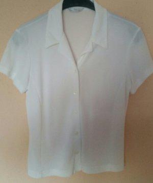 Schöne weiße neuwertige Marks&Spencer Sommer Bluse Gr. S