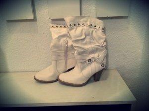 Schöne Weiße Stiefel