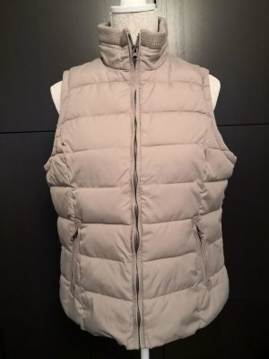 Gina Benotti Quilted Gilet grey brown