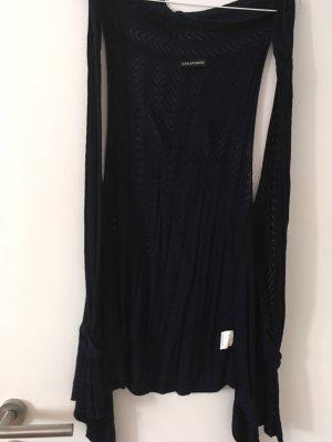 Knitted Vest dark blue