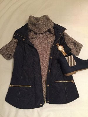 Schöne Weste von Zara - dunkelblau & wie neu