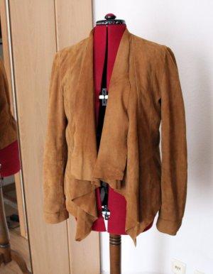 schöne Wildlederjacke im Boho Look (kaum getragen/ Neupreis 160€)