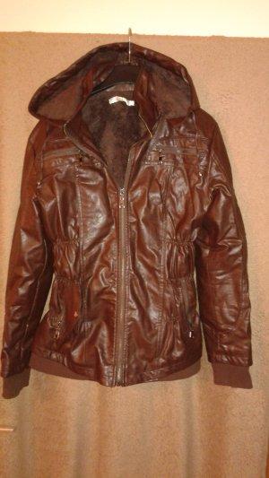 Schöne Winter- Lederjacke zu verkaufen