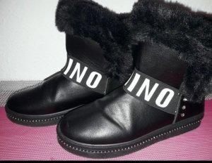 Chelsea Boot blanc-noir
