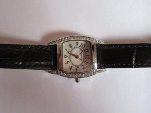 schöne Xenox Leder-Armbanduhr