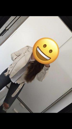Schöne Zara Lederjacke
