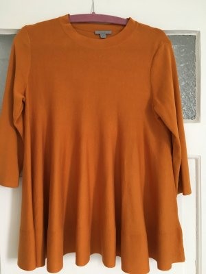 COS Knitted Sweater orange cotton