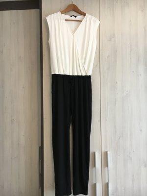 s.Oliver Jumpsuit wit-zwart