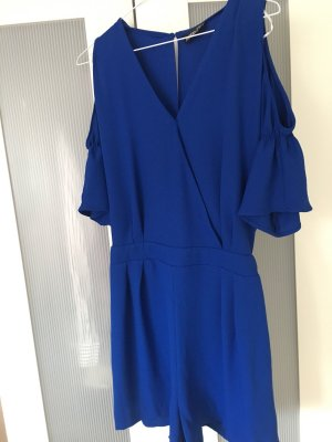 Vestido cut out azul