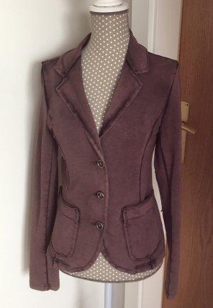 Funky Staff Jersey blazer bruin-paars