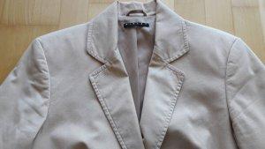 Schöner Blazer Business in beige Baumwolle von Sisley in Gr. 38