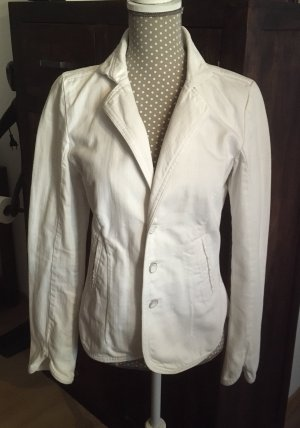 Diesel Denim Blazer white