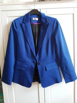 Orsay Veste de smoking bleu polyester