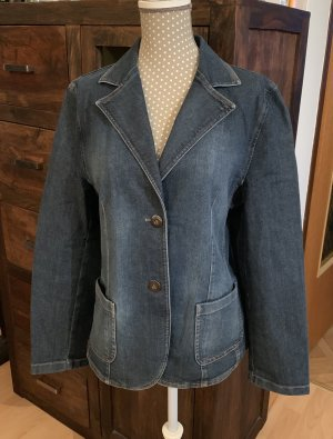 Taifun Denim Blazer dark blue