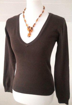 schöner brauner Pullover,Pulli,Shirt von Vero Moda,Gr.S/36