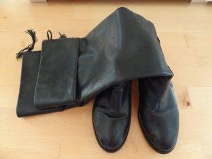 Schöner BUFFALO Leder-Stiefel, schwarz, Gr.37!