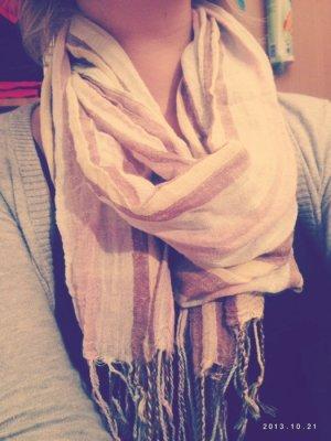 Schöner bunter gestreifter Schal