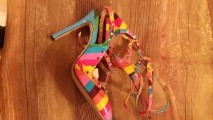 Rainbow High Heel Sandal multicolored no material specification existing