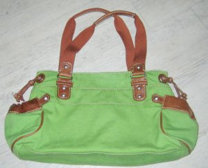 Fossil Carry Bag green