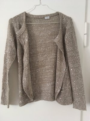 Mango Cardigan all'uncinetto oro-beige