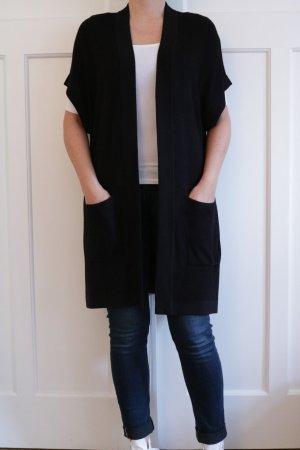 Schöner Cardigan im Kimonostil Gr. XS/S - fällt aber bequem aus!