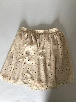 American Apparel Mini-jupe multicolore polyester
