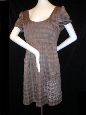 Schöner Dots-Dress mit HandSiebDruck in XL