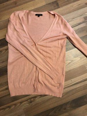 Schöner dünner Cardigan in rosa