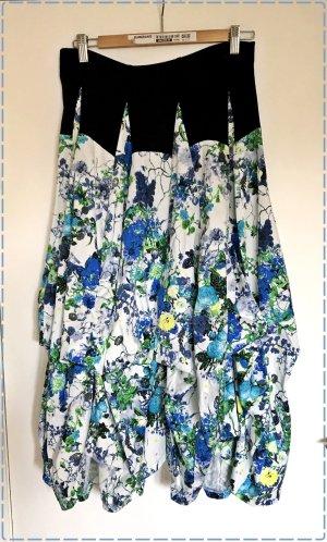 She's crazy Maxi Skirt multicolored cotton