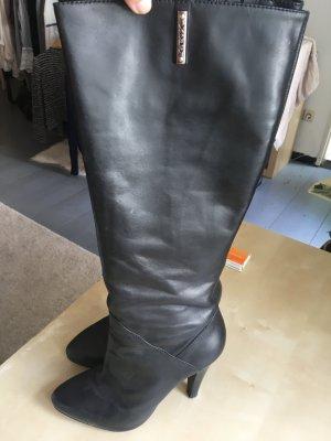 Schöner Geox Leder Stiefel