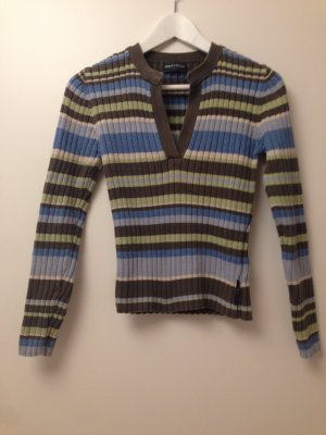Marc O'Polo V-Neck Sweater multicolored cotton