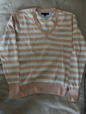 Tommy Hilfiger V-Neck Sweater natural white-apricot