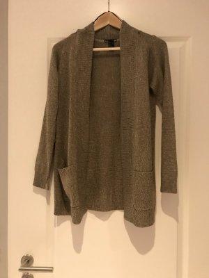 H&M Cardigan in maglia color cammello