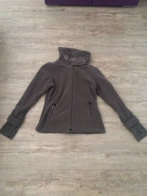 Bench Fleece Jackets grey brown