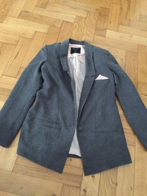 Schöner grauer Guess-Blazer, tailliert, Gr. 36