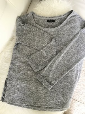 Vila Crewneck Sweater grey-silver-colored