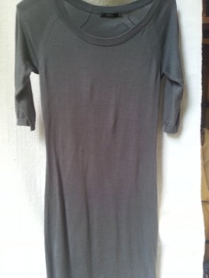 COS Sweater Dress dark grey silk