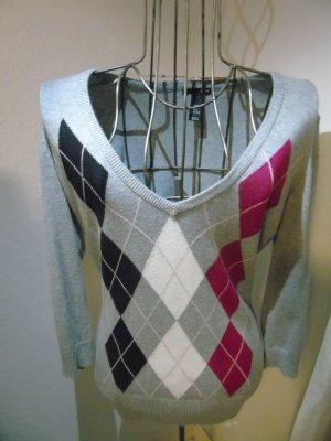 schöner grauer Pullover von H&M, Gr. M