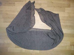 s.Oliver Sciarpa lavorata a maglia antracite